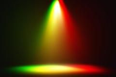 Multi riflettore astratto di colore Fotografie Stock Libere da Diritti