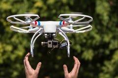 Multi rotor drone Stock Photo