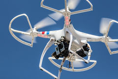 Multi rotor drone Royalty Free Stock Image