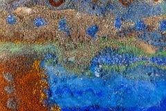 Multi sabbia colorata fotografia stock