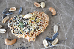 Multi seeds and nuts cracker Stock Images