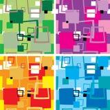 multi seventies square διανυσματική απεικόνιση