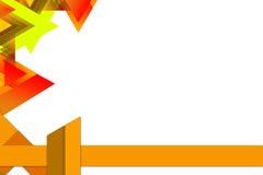 Multi shape left side, abstrack background Stock Images