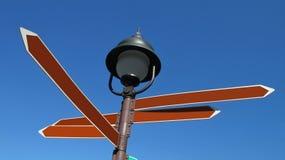 Multi sign post Stock Photo