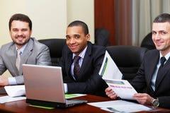 Multi squadra etnica di affari Fotografia Stock Libera da Diritti
