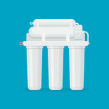 Multi stage filtration system Stock Photo