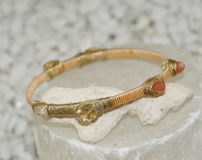 Multi Stone Bracelet Royalty Free Stock Image