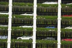 Multi-storey γκαράζ χώρων στάθμευσης αυτοκινήτων, Bandar Seri Begaw Στοκ φωτογραφία με δικαίωμα ελεύθερης χρήσης