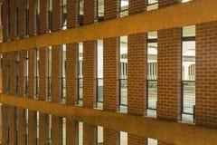 Multi-storey υπαίθριος σταθμός αυτοκινήτων Στοκ Εικόνα