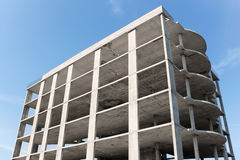 Multi-storey building construction Royalty Free Stock Image