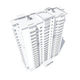 Multi-storey building Stock Image
