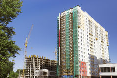 Multi-Storey Building Under Construction Stock Photography