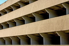 Multi storey car park Royalty Free Stock Image