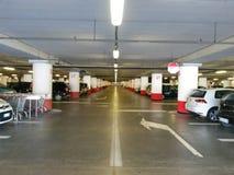 Multi-storey car parking interiors Stock Photo
