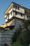 Multi-storey house in the town of Melnik in Bulgaria Royalty Free Stock Photos