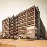 Multi storey indoor parking building Stock Images