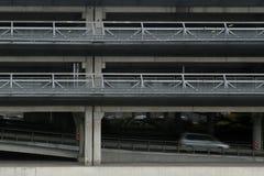 Multi Storey Parking Lot. Royalty Free Stock Photos