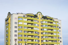 Multi-storied apartment building Royalty Free Stock Photos