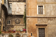 Multi-story Tuscan Architecture Royalty Free Stock Photos