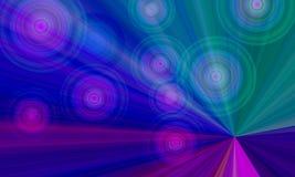 Multi struttura di colore di Crystal Abstract con bello effetto digitale royalty illustrazione gratis