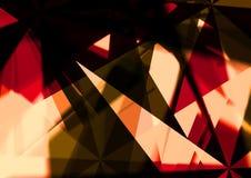 Multi struttura di colore di Crystal Abstract con bello effetto digitale illustrazione vettoriale