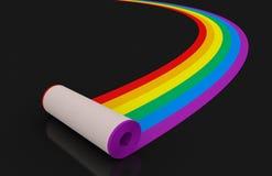 Multi tapete colorido Imagem de Stock