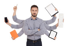 Multi-tasking Stock Photography