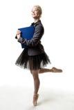 Multi-tasking dancer Royalty Free Stock Photography