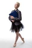 Multi-tasking dancer Stock Photography