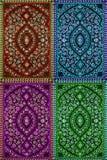 Multi teste padrão colorido Imagem de Stock Royalty Free