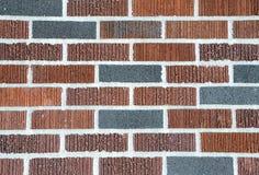 Multi teste padrão colorido do tijolo Foto de Stock Royalty Free
