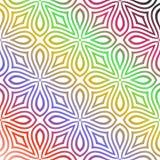 Multi teste padrão sem emenda da cor ilustração do vetor