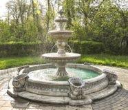 Multi-tiered fontein Stock Afbeeldingen