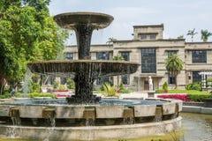 Multi-tiered fontein Stock Foto
