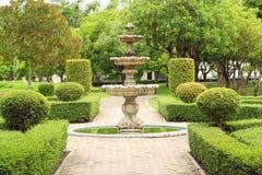 Multi-tiered fontein Stock Fotografie