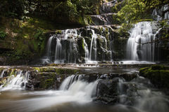 Multi-tiered waterfall Royalty Free Stock Photo