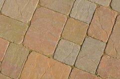 Multi tijolos dados forma impares da cor Foto de Stock Royalty Free