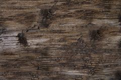 Railroad Tie Background. Multi tone brown and gray old railroad tie background. Horizontal Royalty Free Stock Photos