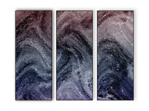 Multi-Toned Abstract Background Triptych Royalty Free Stock Images