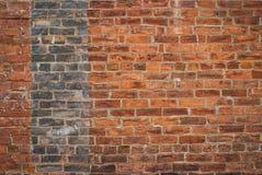 Brick Wall 1165. Multi-toned brick wall in an urban environment royalty free stock photography