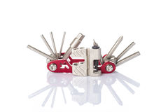 Multi tool for cycling Royalty Free Stock Images