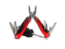 Multi tool and screwdriver Stock Photography