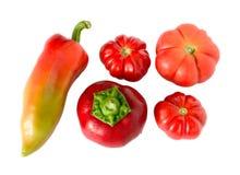 Multi vegetais e vitaminas Imagens de Stock