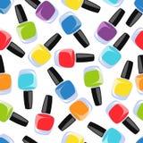 Multi verniz para as unhas da cor Imagens de Stock