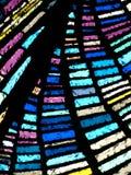 Multi vidro manchado colorido Foto de Stock Royalty Free