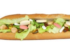 Multi Vitamin-Verrücktheit Stockbilder