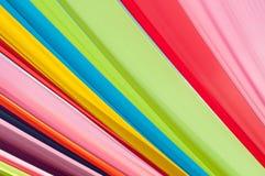 Multi vivid color fabric Stock Photography