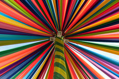 Multi vivid color fabric. Textile Royalty Free Stock Photo