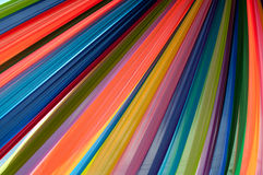 Multi vivid color fabric Stock Photography