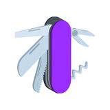 Multi Werkzeugsymbol Flache isometrische Ikone oder Logo 3D Art Pictogr Stockbilder